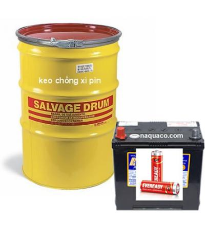 Adhesive for battery and acquy
